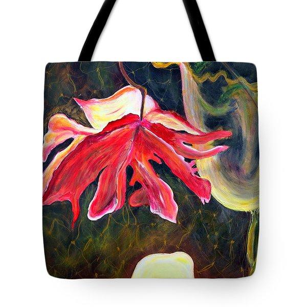 Anemone Me Tote Bag by Jolanta Anna Karolska