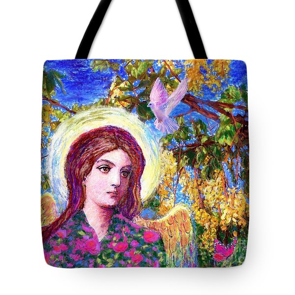 Angel Love Tote Bag by Jane Small