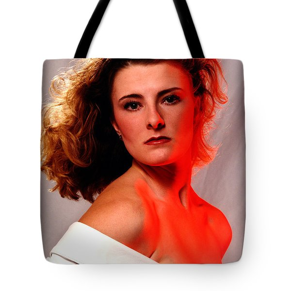 Angela Red Leather Tote Bag by Gary Gingrich Galleries