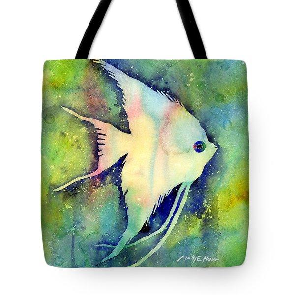 Angelfish I Tote Bag by Hailey E Herrera