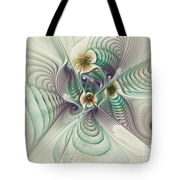 Angelic Entities Tote Bag by Deborah Benoit