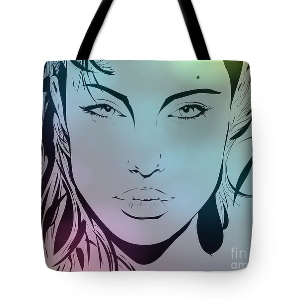 Angelina Tote Bag by Cheryl Young
