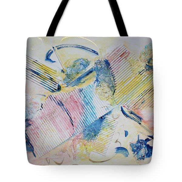 Angels Lingering Tote Bag by Asha Carolyn Young