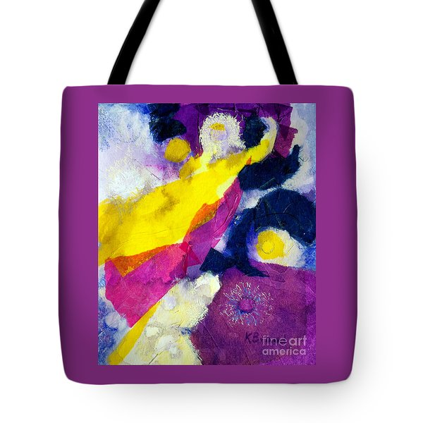 Angels Surround Me Tote Bag by Kathy Braud