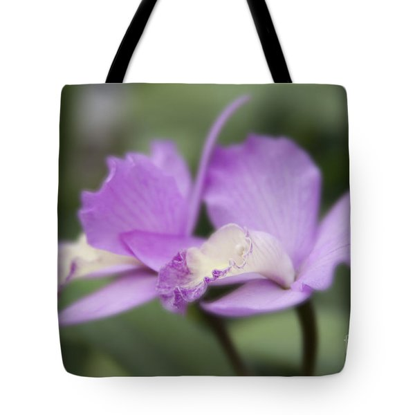 Angels Treasure Hawaii Orchid Tote Bag by Sharon Mau