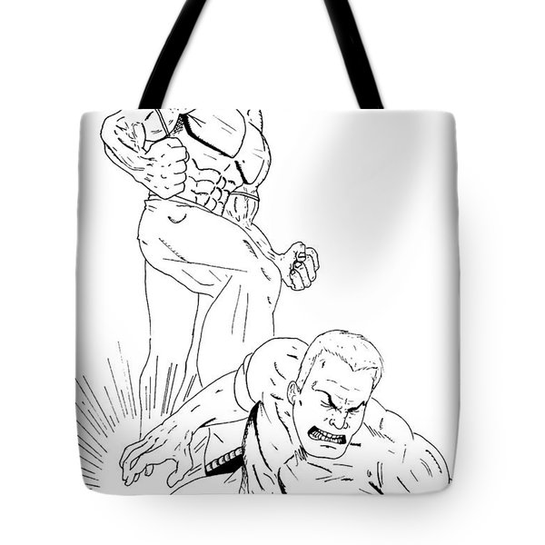Anger Has A Foothold On Me Tote Bag by Justin Moore