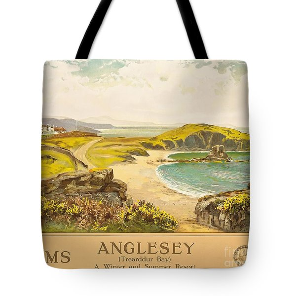 Anglesey Tote Bag by Henry John Yeend King