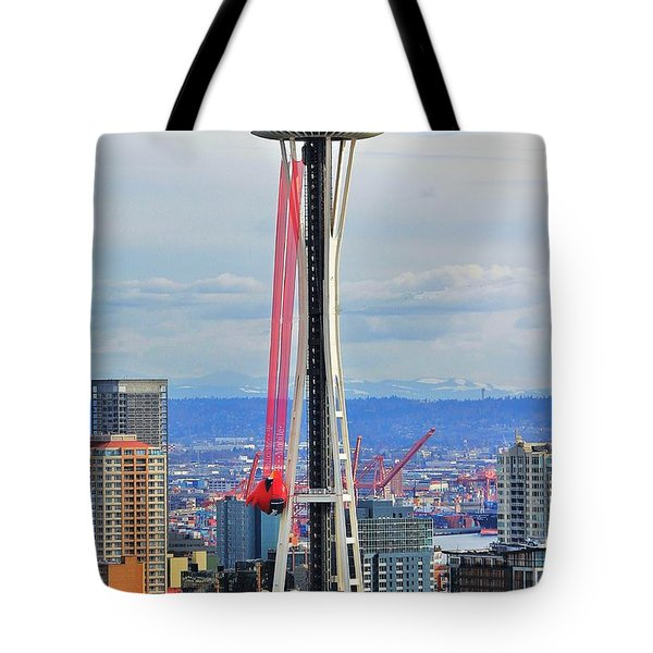 Angry Birds Needle Tote Bag by Benjamin Yeager