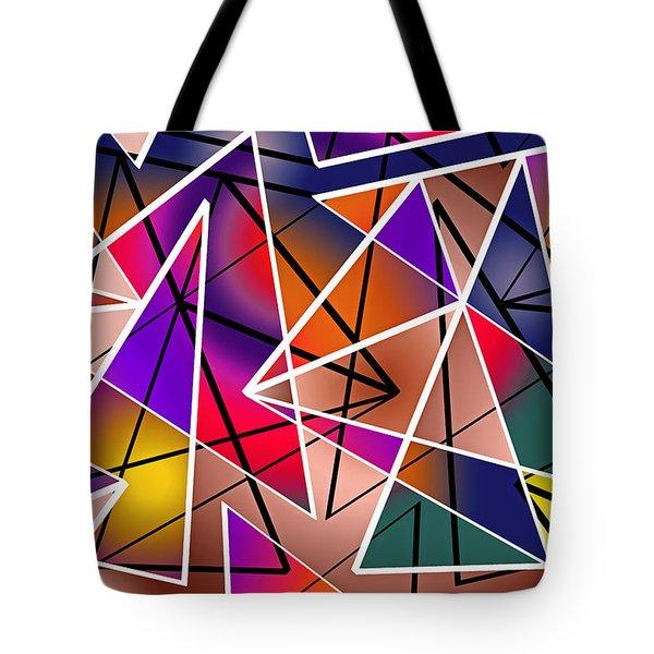 Angular Tote Bag by Stephen Younts