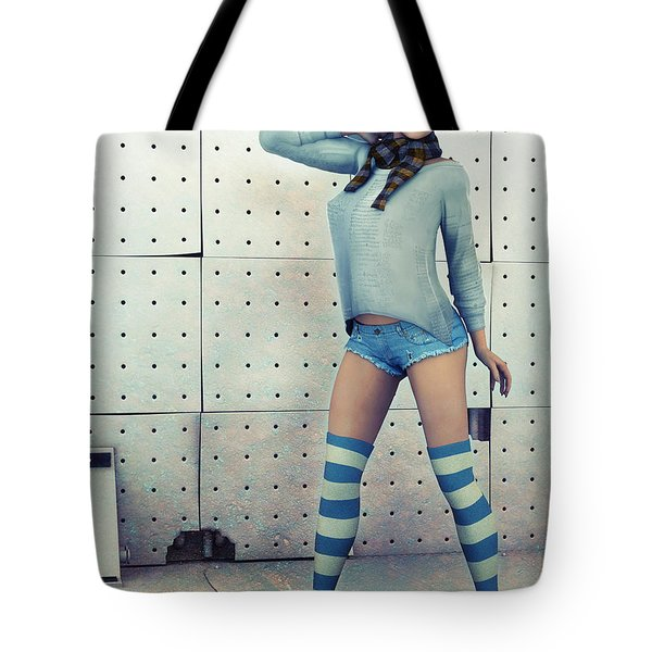 Anna Tote Bag by Jutta Maria Pusl