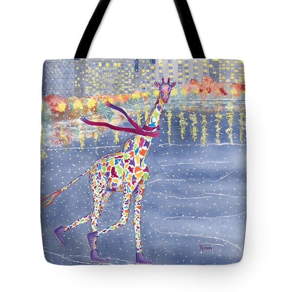 Annabelle On Ice Tote Bag by Rhonda Leonard