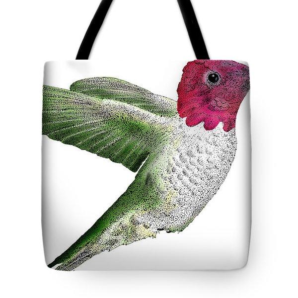 Annas Hummingbird Tote Bag by Roger Hall