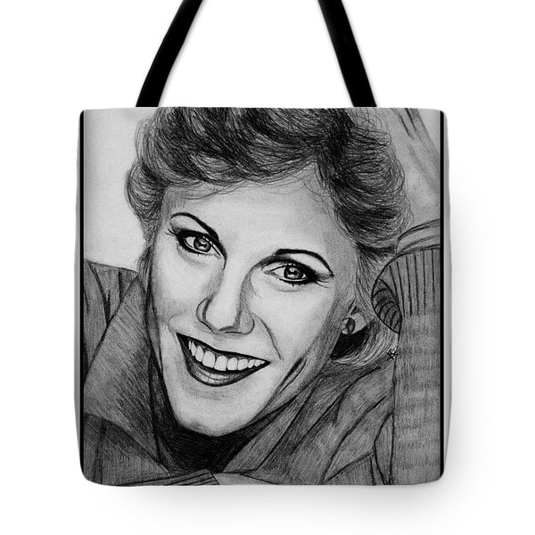 Anne Murray In 1983 Tote Bag by J McCombie