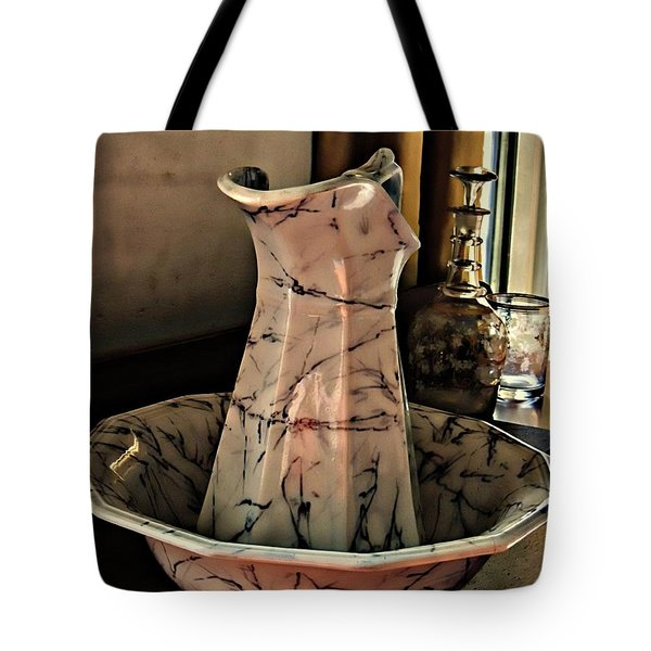 Another Time Tote Bag by Marcia Lee Jones