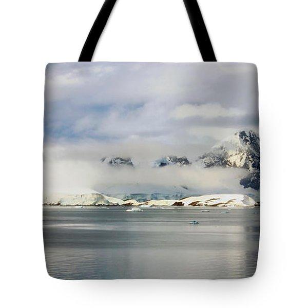 Antarctica Panorama Tote Bag by Mountain Dreams
