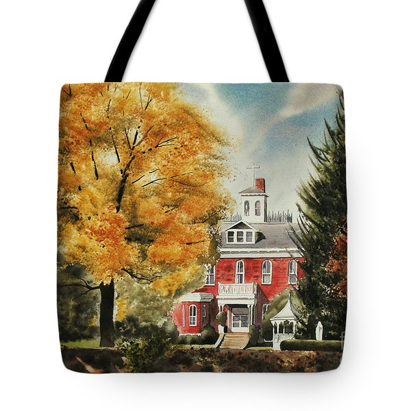Antebellum Autumn Ironton Missouri Tote Bag by Kip DeVore