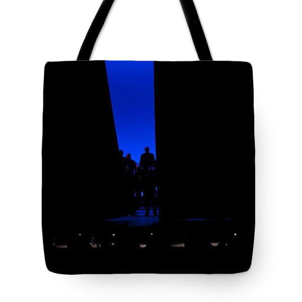 Anticiption Tote Bag by Jim Finch