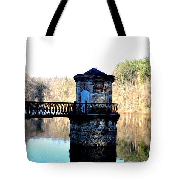 Antietam Creek Reading Pa Tote Bag by Bill Cannon