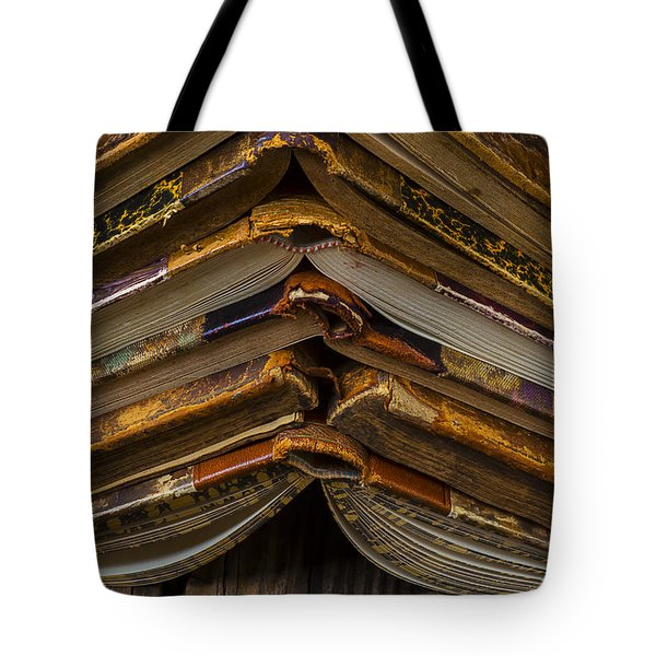Antique Books Tote Bag by Garry Gay