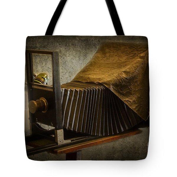 Antique Camera Tote Bag by Susan Candelario