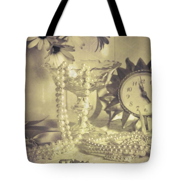 Antique Dressing Table Tote Bag by Amanda And Christopher Elwell
