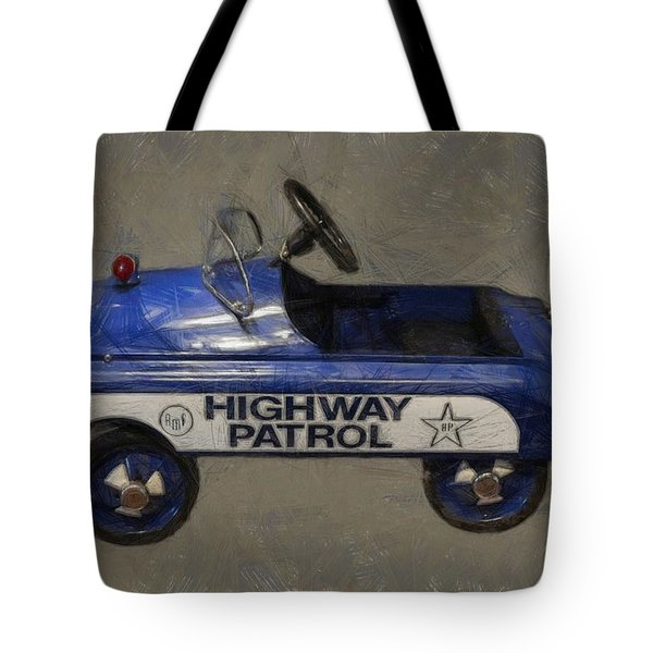 Antique Pedal Car V Tote Bag by Michelle Calkins