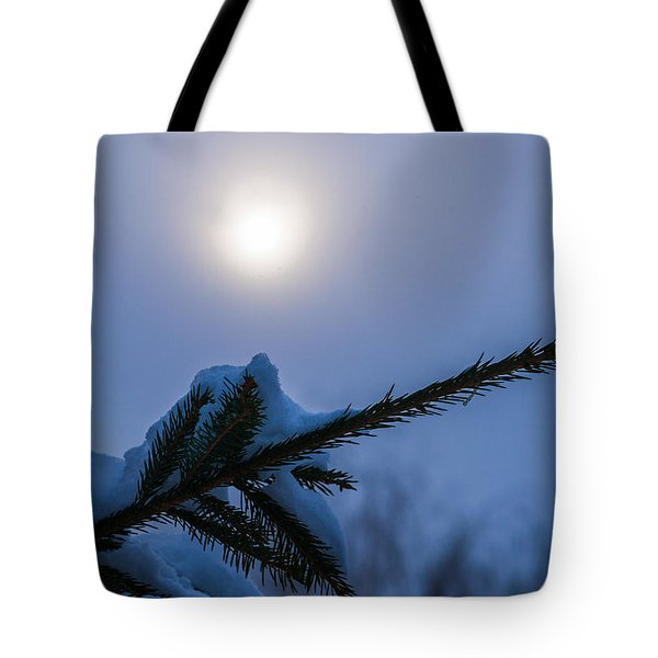 Antisipation Of New Year Tote Bag by Alexander Senin