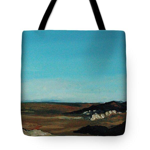 Anza - Borrego Desert Tote Bag by Joseph Demaree