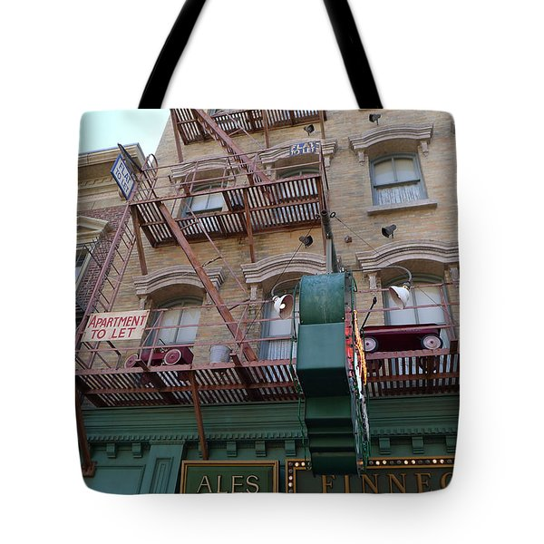 Apartment To Let At Finnegans Tote Bag by Richard Reeve