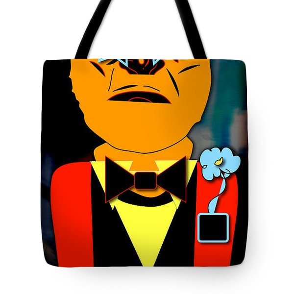 Ape Banquet Tote Bag by Marvin Blaine