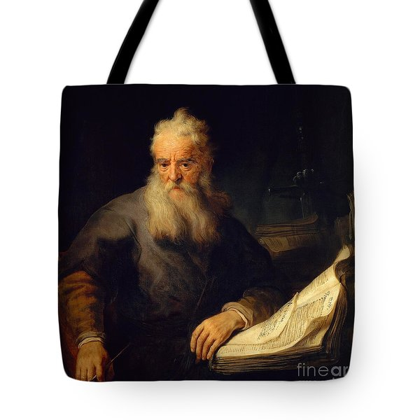 Apostle Paul Tote Bag by Rembrandt