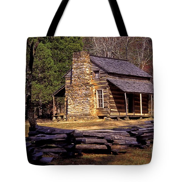 Appalachian Homestead Tote Bag by Paul W Faust -  Impressions of Light