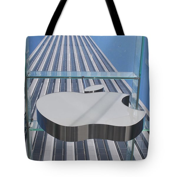 Apple 5 Tote Bag by John Powell