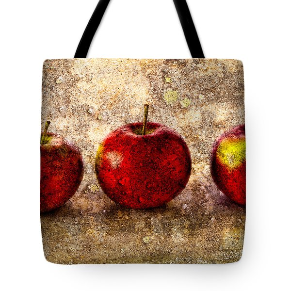 Apple Tote Bag by Bob Orsillo