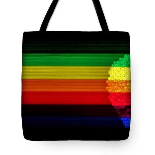 Apple Computer Inc Tote Bag by Benjamin Yeager