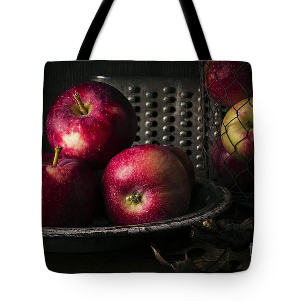 Apple Harvest Tote Bag by Edward Fielding