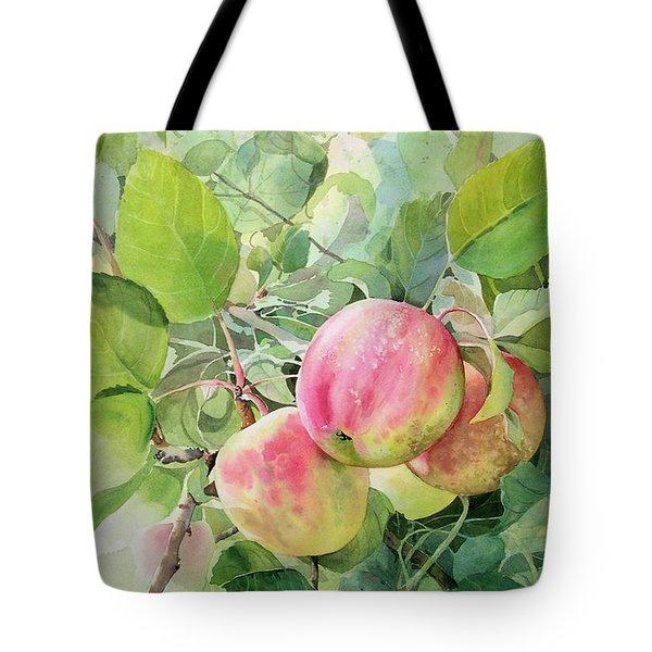 Apple Pie Tote Bag by Kris Parins