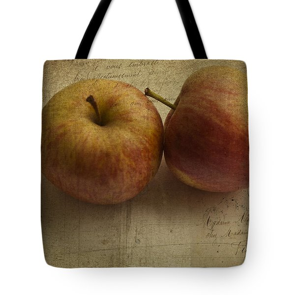 Apples Tote Bag by Nomad Art And  Design