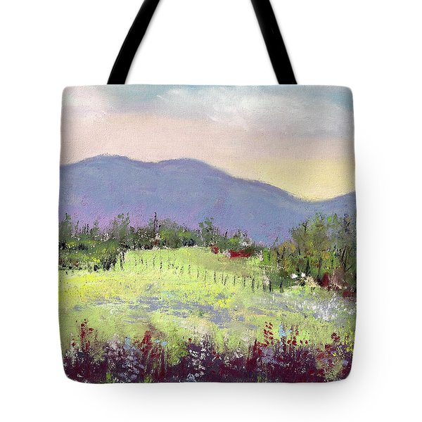 Approaching Home Tote Bag by David Patterson
