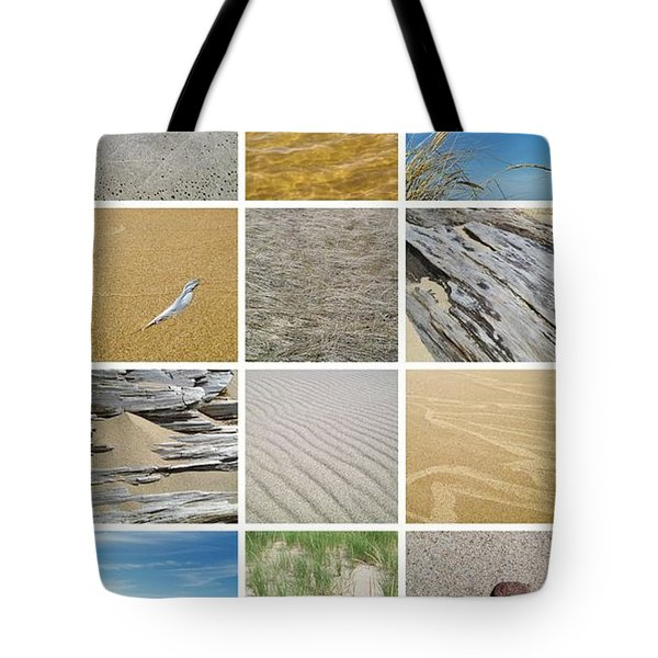 April Beach Tote Bag by Michelle Calkins