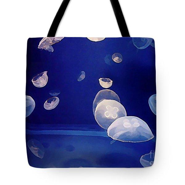 Aqarium Life Tote Bag by Halifax artist John Malone
