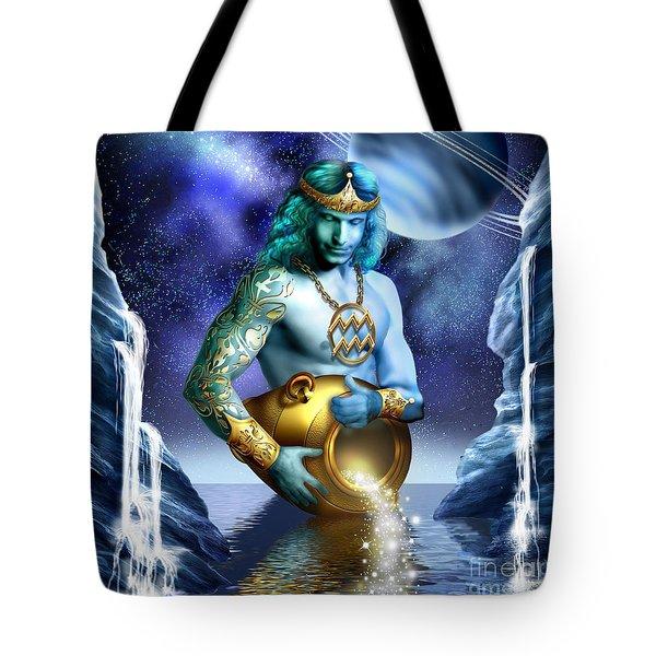 Aquarius Tote Bag by Ciro Marchetti