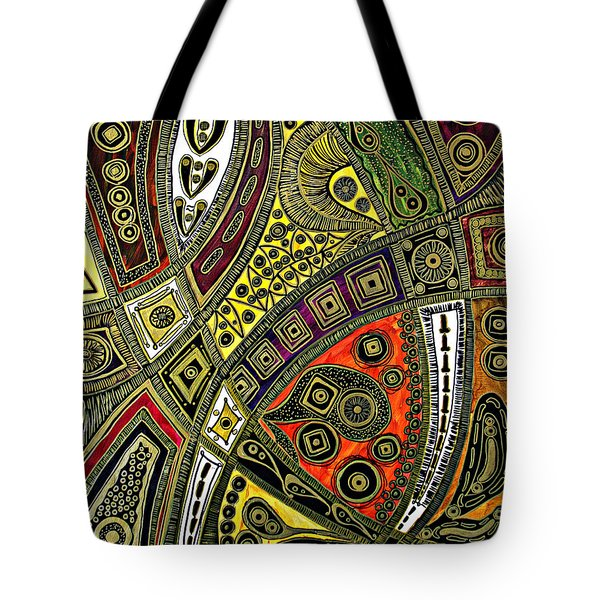 Arabian Nights Tote Bag by Jolanta Anna Karolska