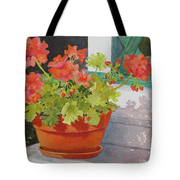Arbor Gallery Steps Tote Bag by Mary Ellen  Mueller Legault