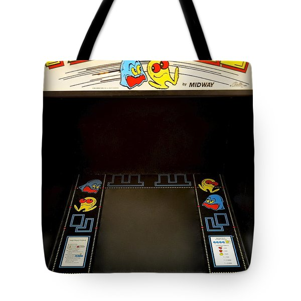 Arcade Madness Tote Bag by Frozen in Time Fine Art Photography