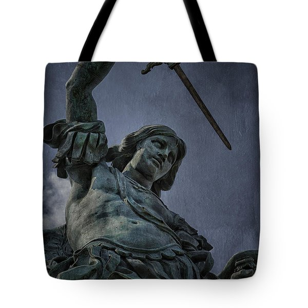 Archangel Michael Tote Bag by Erik Brede