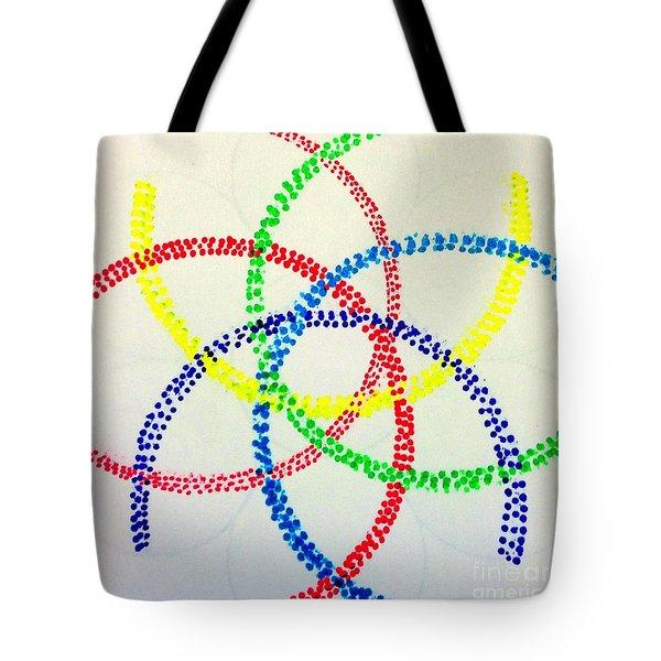 Arcs Tote Bag by Rrrose Pix