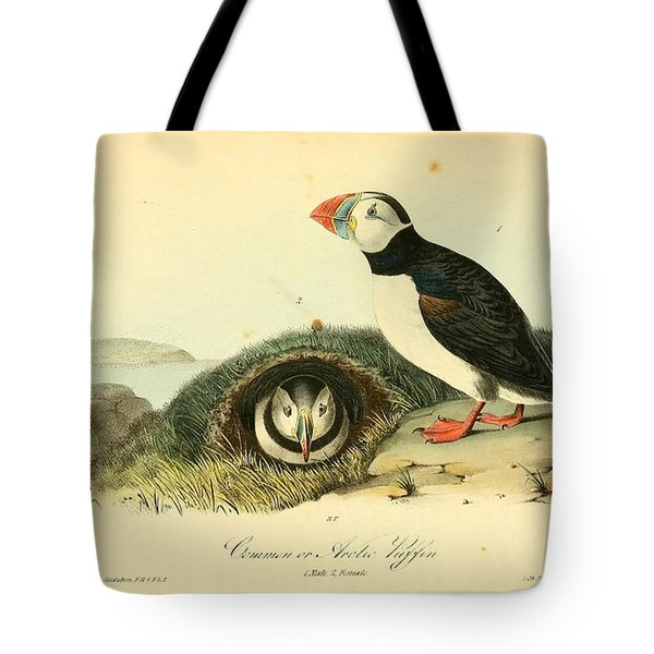 Arctic Puffin Tote Bag by Philip Ralley