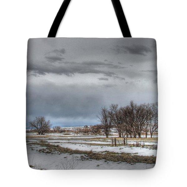 Tote Bag featuring the photograph Ardmore Prairie by Bill Gabbert
