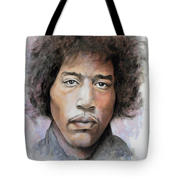 Are You Experienced Tote Bag by William Walts